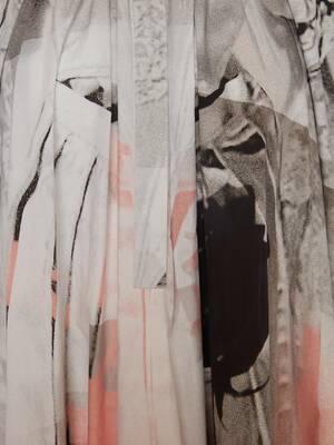 Trompe-l'œil Poplin Midi Dress