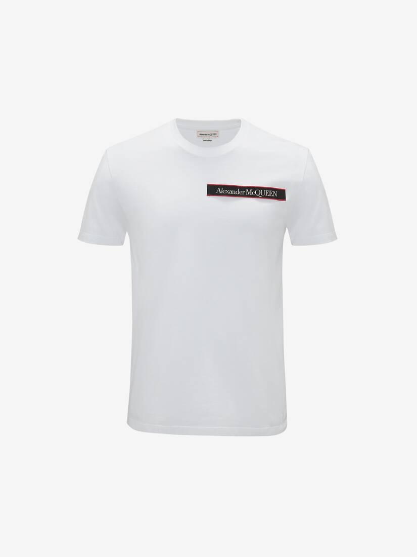 Selvedge Logo Tape Detail T-Shirt