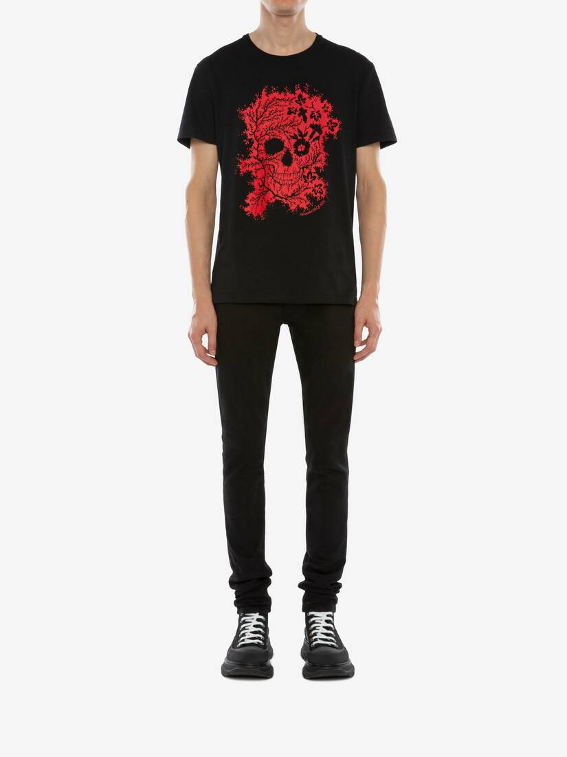 Display a large version of the product image 2 - Ivy Skull T-Shirt