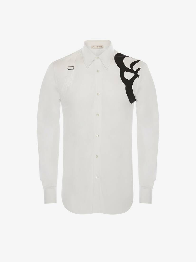 Seal Logo Embroidery Harness Shirt