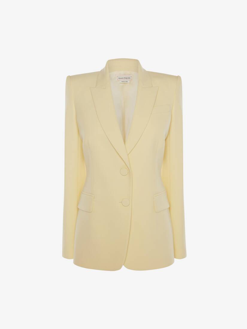 Light Wool Silk Jacket