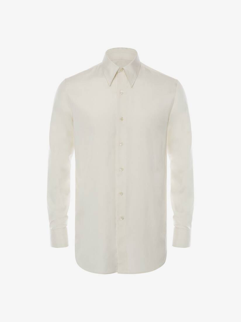 Display a large version of the product image 5 - Silk Poplin Shirt