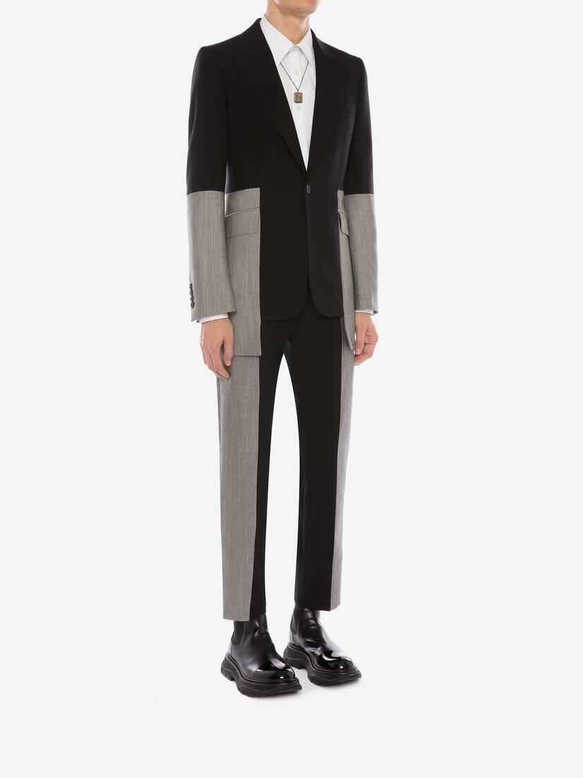 Display a large version of the product image 3 - Panelled Tailored Jacket