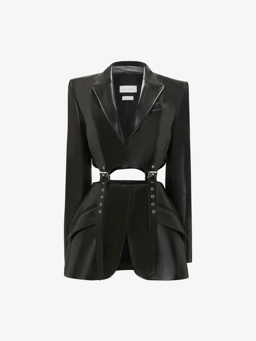 Leather Buckle Jacket