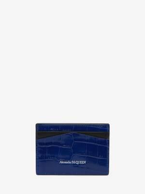 스컬 카드 홀더