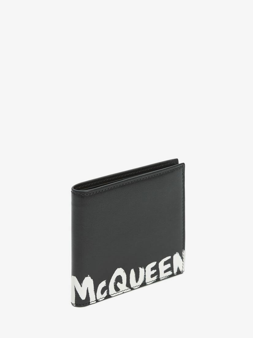 Display a large version of the product image 2 - Brieftasche mit McQueen-Logo als Graffiti