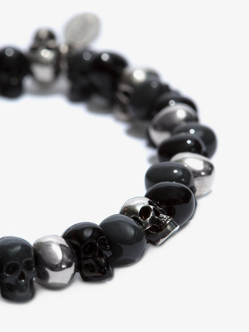 Display a large version of the product image 3 - Beaded Skull Bracelet