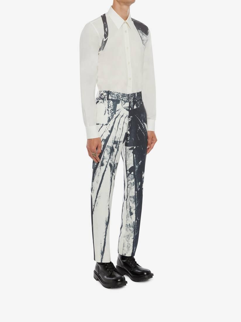 X-Ray Printed Harness Shirt