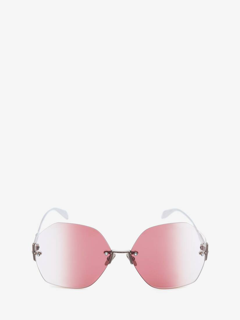 Display a large version of the product image 1 - Jewelled Hexagonal Sunglasses