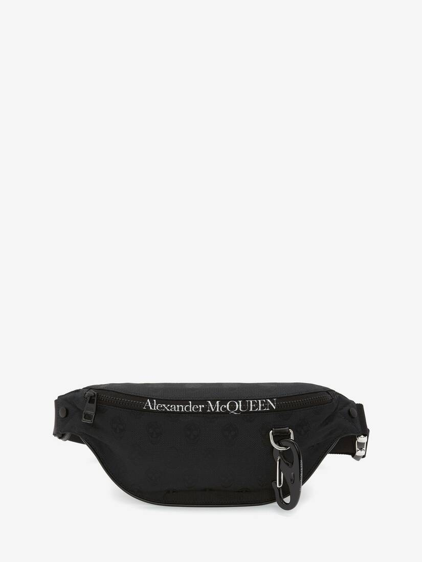 Biker Skull Harness Belt Bag