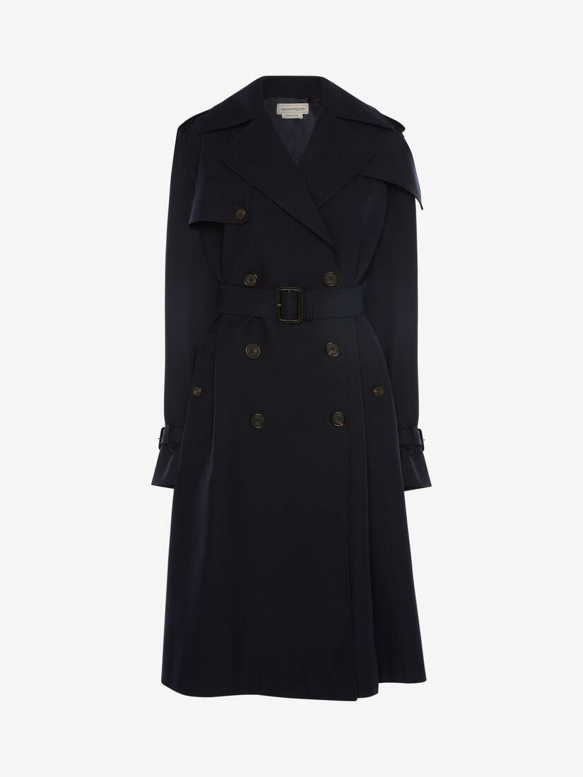 Display a large version of the product image 1 - Hybrid Trench Coat