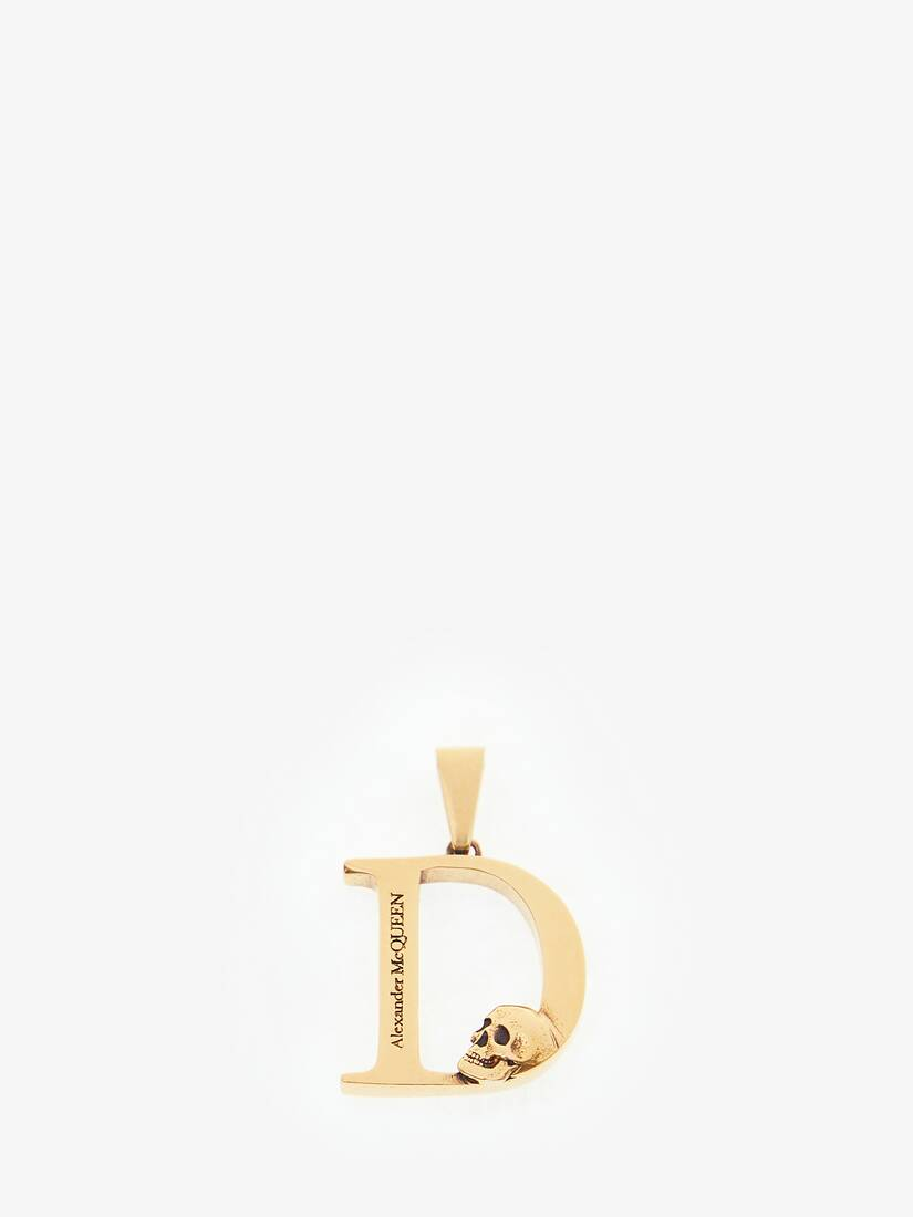 Display a large version of the product image 1 - Alphabet Pendant