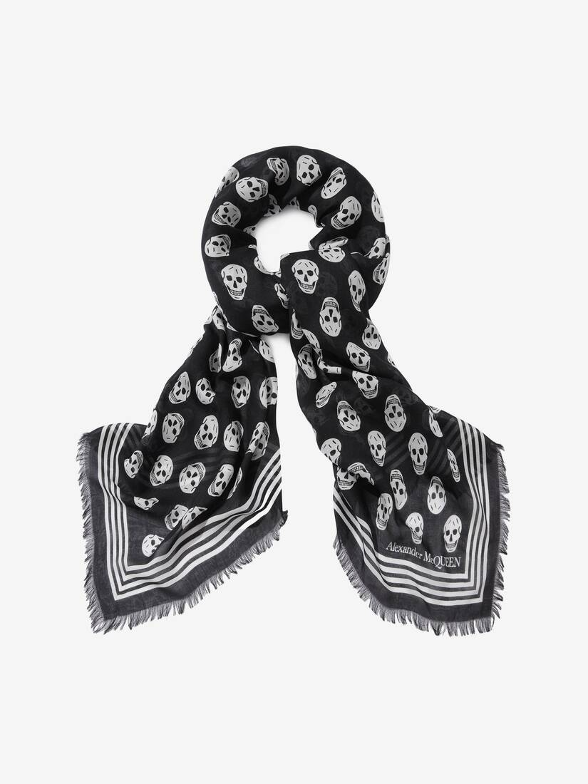 Display a large version of the product image 2 - Biker Skull Scarf