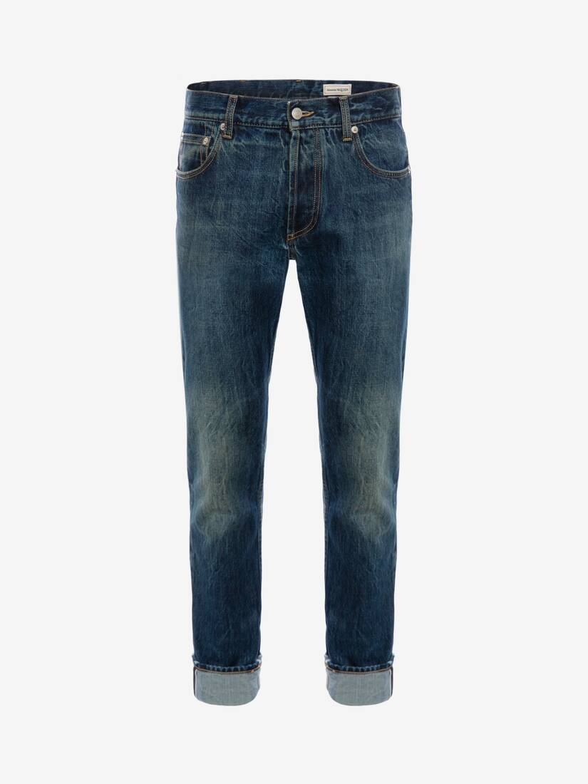 Display a large version of the product image 1 - Signature Selvedge Denim Jeans