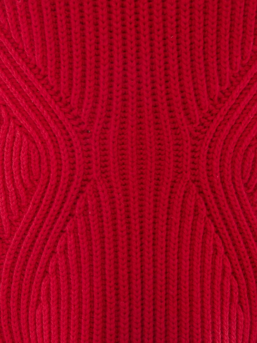 Display a large version of the product image 5 - Engineered Sculpted Knit Sweater