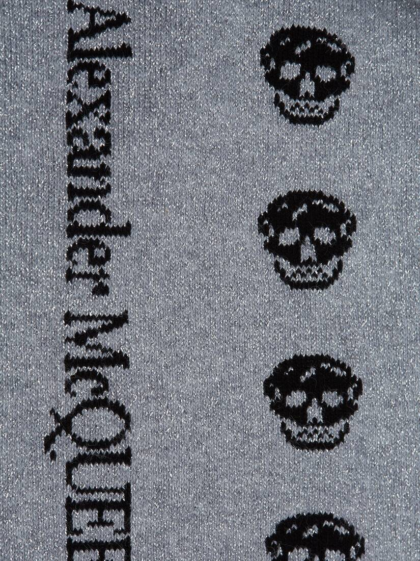 Display a large version of the product image 2 - Kurze Skull-Socken