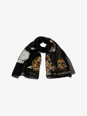Regal Leopard Stole