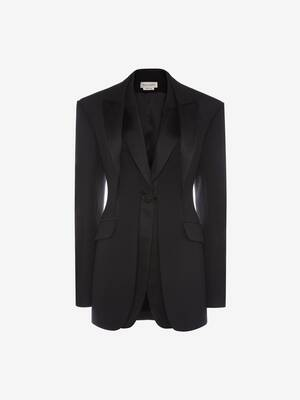 Trompe L'œil Light Wool Silk Jacket