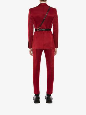 Satin Duchesse Tuxedo Jacket