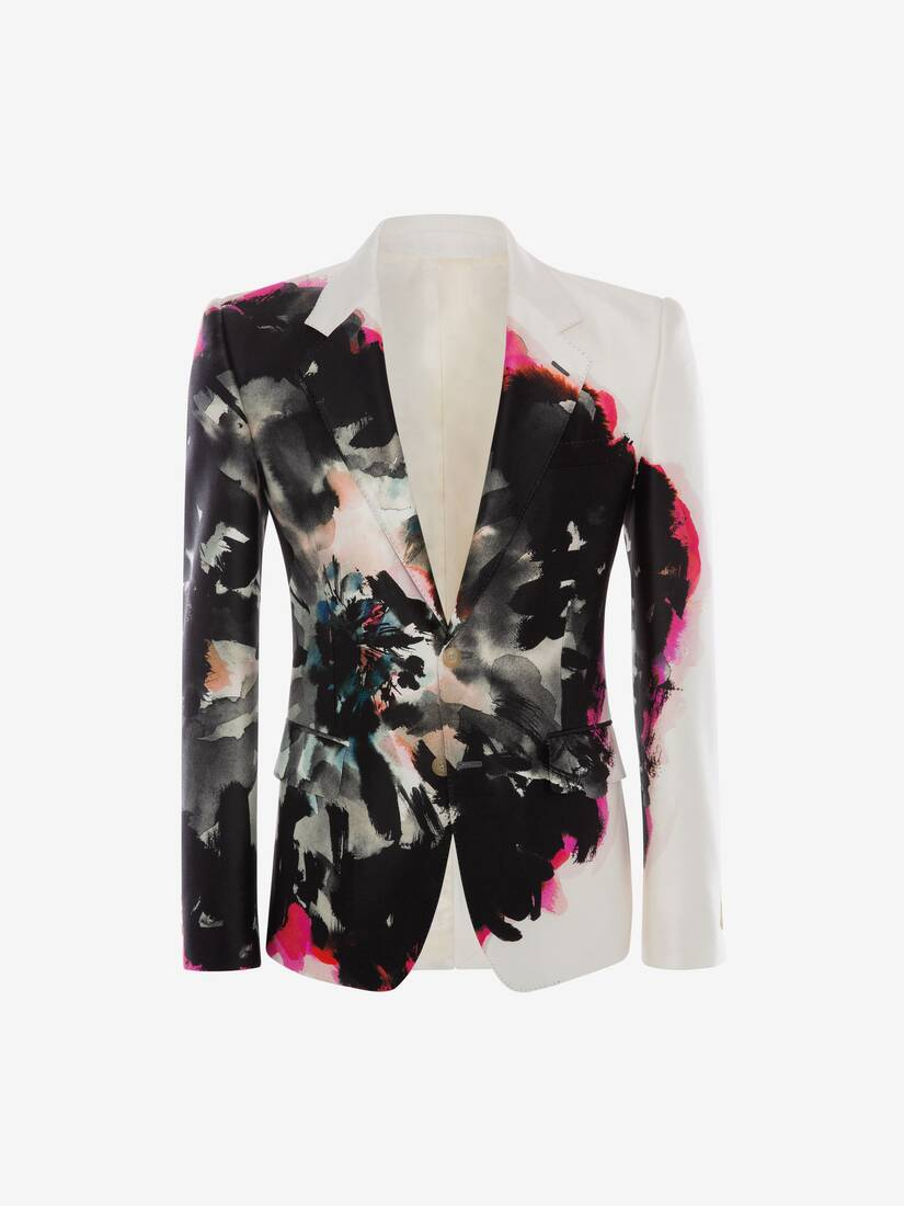 Display a large version of the product image 1 - Ink Floral Jacket