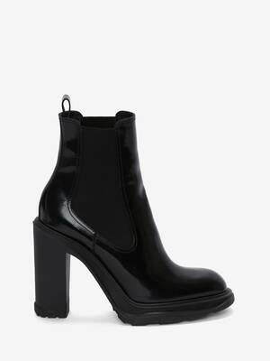Tread Heeled Chelsea Boot