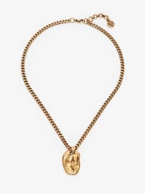 Kurze Molten-Halskette
