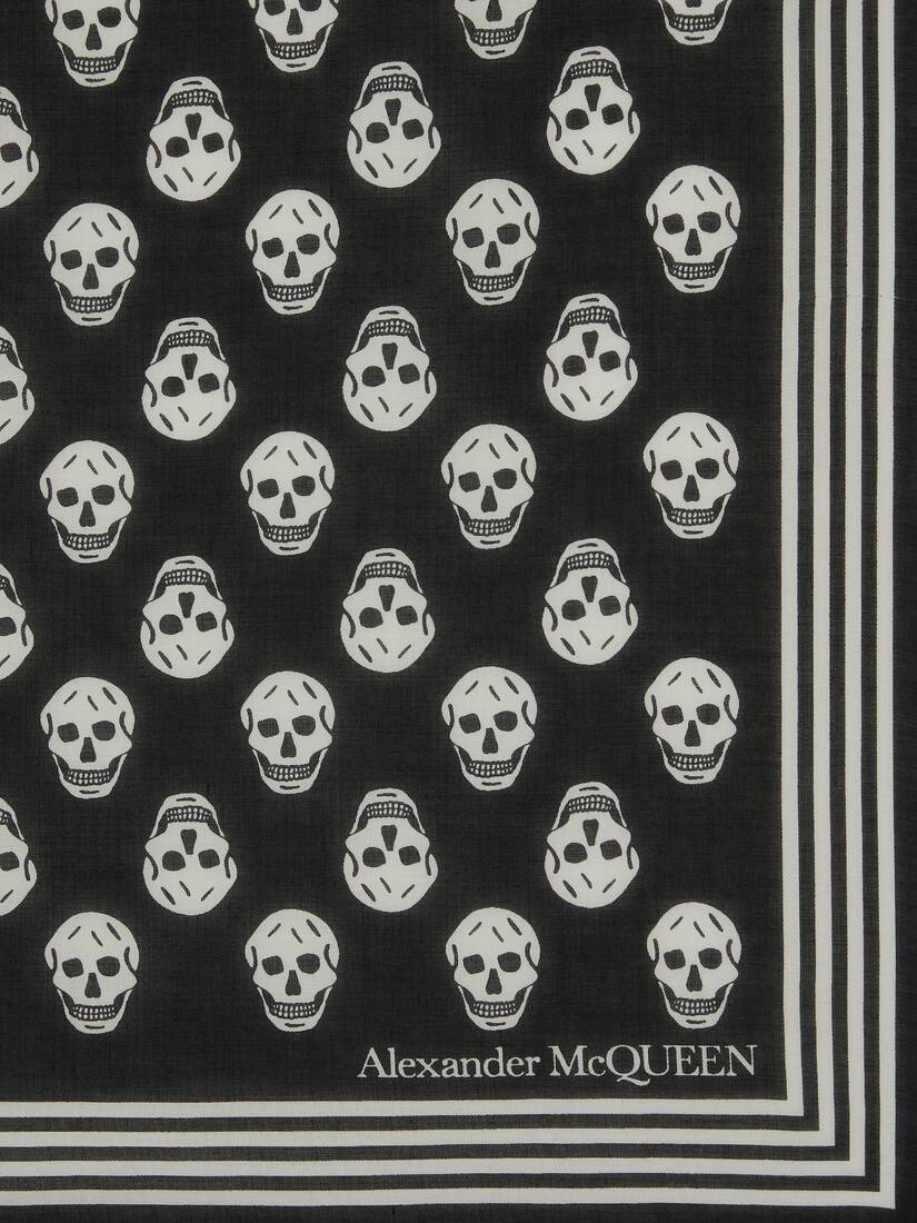 Display a large version of the product image 3 - Foulard Skull Biker