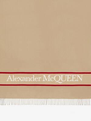 Alexander McQueen Selvedge Blanket