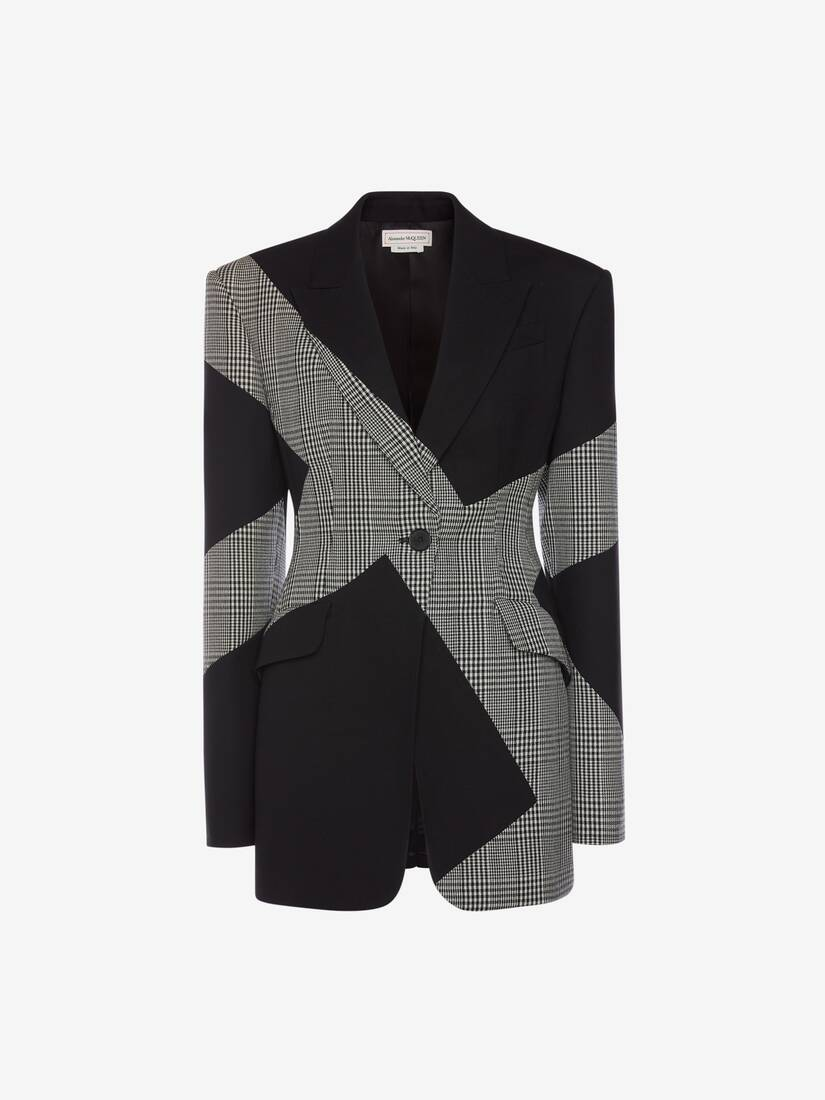 Display a large version of the product image 1 - Prince of Wales Spliced Jacket