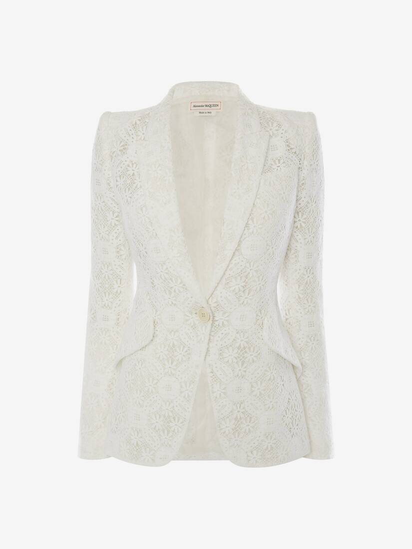 Endagered Flower Lace Jacket